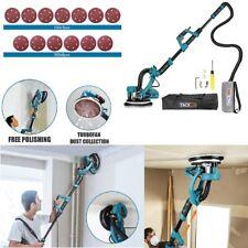 Drywall Sander Kit Electric Sheetrock Sanding Pad Withvacuum Attachment Led Light