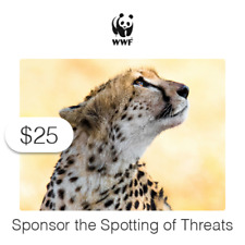$25 Charitable Donation For: Sponsor the Spotting of Threats to Wildlife