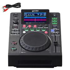 Gemini MDJ-600 CD USB MP3 Media Player + DJ Software Controller 24-bit Soundcard
