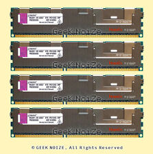 Kingston Server RAM 16GB 4x 4GB PC3-10600R ECC REG 1333 Memory LOT KTD-PE313/4G