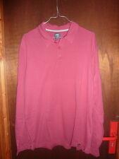 CELIO Taille L polo  été  homme rouge bordeau décontracté casual fashion
