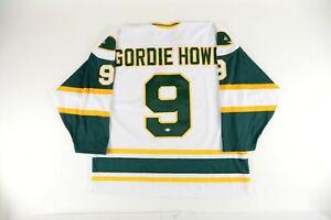 Gordie Howe AUTOGRAPHED Hartford Whalers Replica Hockey Jersey w/ PSA Cert