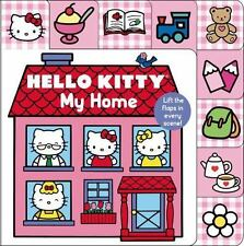 Hello Kitty: My Home Lift-The-Flap Tab (Board Book)