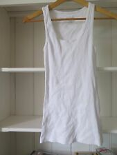 COTTON ON Sz XS White Cotton Tank Top - great for layering BNWOTGS