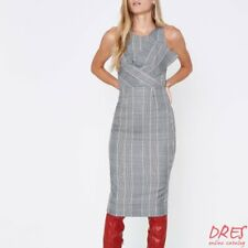 River Island Casual Checked Midi Length Sleeveless Dress Size 10 REG: $115