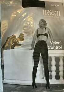Wolford Velvet Control Tights Helmut Newton Photo Coffee Size: Small  18075 - 25