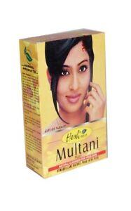 Hesh Multani Mitti/Mati 100g Natural Clay Skin and Face Cleanser Mask Mud Pack
