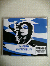 MADONNA – AMERICAN LIFE – CD SINGLES AUSTRALIA 3 TRACKS - NEW!