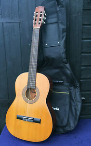 Vintage ROSARIO Acoustic Guitar Folk Parlor Spanish Classical Nylon String 1970s