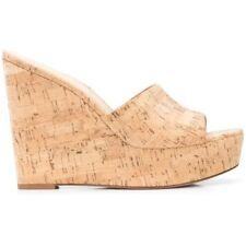 Women Cork Wedge Summer Sandals Party Peep Toe High Heels Platform Shoes 34/45 L