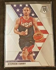 2019-20 Panini Mosaic USA Basketball Stephen Curry