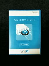 Official Nintendo Wii U Lens Cleaner + Cleaning Liquid Boxed Japan