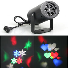 Stage Laser Light Heart Snowflake LED Projector for DJ KTV Pub Disco Xmas Gift