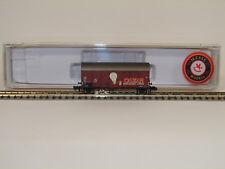 """Brawa N 67314 Gedeckter Güterwagen Gms 35 """"Osram"""" der DB Neuware"""