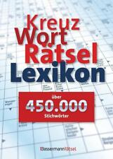 Kreuzworträtsellexikon - über 450.000 Stichwörter (2016, Gebundene Ausgabe)