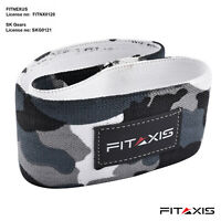 FITAXIS Elastic Legs Exercise Resistance Bands Fabric HIP CIRCLE Glute Loop Gym.