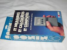 Sonin 30 Electronic Distance Measuring Instrument, Measures Calculates Computes