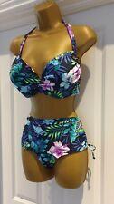 Mantaray Tropical Print Bikini Size 16 BNWT
