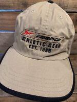 REEBOK Athletic Gear Est 1895 Khaki Adjustable Adult Cap Hat