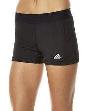 adidas Machine Washable Solid Athletic Shorts for Women