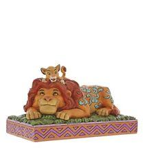 "Enesco  Disney Traditions Le Roi Lion ""A father's Pride"" Simba et Mufasa"