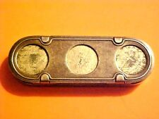 RARE JEMCO Metal Co Newark NJ Coin Organizer/Bank VA ELECTRIC & POWER CO G832