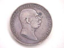 Österreich 5 Kronen 1908 60. Regierungsjubiläum Franz Joseph I. - Silber