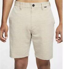 "New Hurley Men's Size 28 Nike Dri-Fit Cutback 19"" Shorts AJ2736"