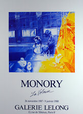 Jacques Monory  1924 Paris  La Voleuse  Cartel anunciador- cartel de la exposici