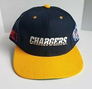 Vintage 1990s Starter NFL San Diego Chargers Fitted Wool Hat 7 1/8 Los Angeles