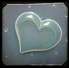 Resin Flexible Mold Heart Mould Craft Supplies