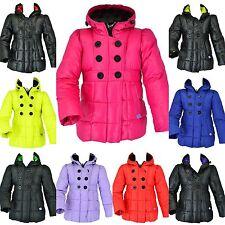 Kinder Mädchen Steppjacke Mantel Übergangsjacke Schneejacke Jacke Winterjacke