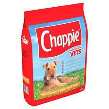 Chappie Dry Chicken And Wholegrain Cereal 3kg Complete Dog Food NO DAIRY EGGS
