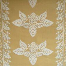 14sr Waterhouse Golden Strawberry Stripe Historic Reproduction Wallpaper