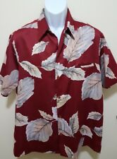 TORI RICHARD VINTAGE Hawaiian Aloha Shirt Mens Large Polyester MINT CONDITION