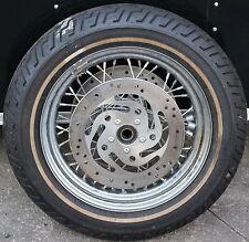 Original Harley Dresser Front Wheel & Tire With Rotors MT90B16 Stock (U-1671)