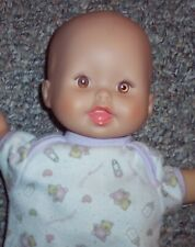 """First Vhtf Little Mommy Doll With Purple Vinyl Booties Attached 12"""" Lovey Doll"""