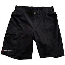 Louis Garneau Womens Radius Baggy Black Cycling Bike Shorts • Size XL