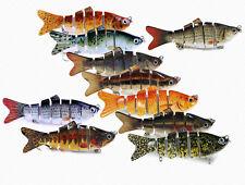 Leurre de pêche articulé - Gardon / Vairon 6 segments 10 cm 18 g - Carnassiers