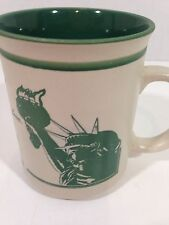 STATUE OF LIBERTY Coffee Mug 12 OZ Poem Give Me Your Tired, Your Poor....