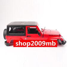 3-Door Modified Car body Shell climbing SCX10 D90 car For 1:10JK Wrangler Red