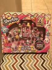 Shopkins - All Star Collection - 26 Shopkins - Season 1-7 - New - Sealed!