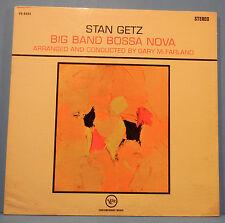 STAN GETZ BIG BAND BOSSA NOVA VINYL LP 1962 ORIGINAL PRESS PLAYS GREAT! VG/VG!!D