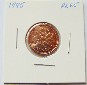 Canada 1995 - 1 Cent Penny - Uncirculated PL65