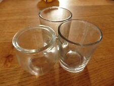 3 pequeños vasos para juntas y manualidades