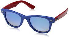 Gafas de Sol Ray-Ban Junior Wayfarer Rj9066s 7039b7 Azul/rojo