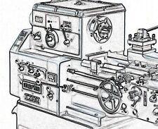 Drehmaschine Martin DLZ 502  Bedienungsanleitung