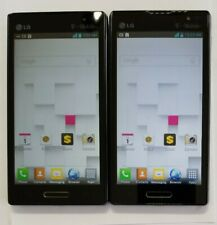 LOT OF 2 LG OPTIMUS L9 P769 - T-MOBILE - CLEAN IMEI - MINOR SIGNS OF USE - NICE!