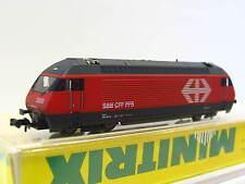 Minitrix N 12680 E-Lok Re 460 024-3 Rheintal SBB CFF FFS OVP (Z1454)