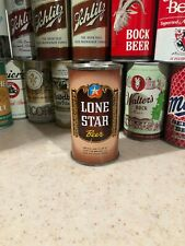 LONE STAR FLAT TOP BEER CAN ~ BROWN CAN ~ SAN ANTONIO, TEXAS.